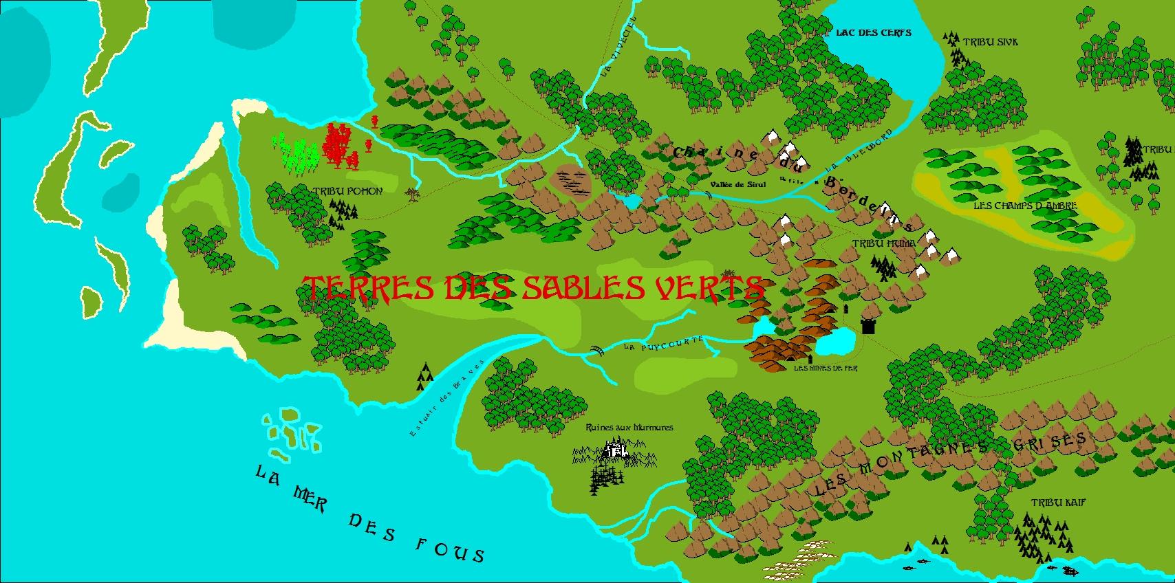 Les Terres des Sables Verts